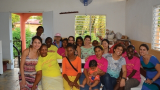 CHOP staff in the Dominican Republic as part of Global Health Allies trip