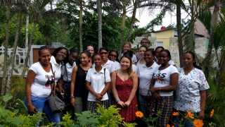 Global health team in the Dominican Republic