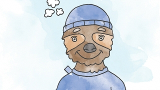 Illustration of Sloth character