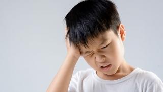 Child with a headache