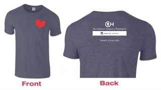 Front and Back 2016 Cardiac T-shirt