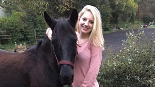 Amber and her horse