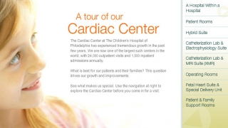 cardiac virtual tour