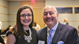 Miriam Enriquez and Glenn Flores