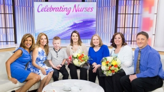Nicu Nurses surprised NBC Today Show