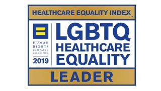 LGBTQ Healthcare Equality Leader badge