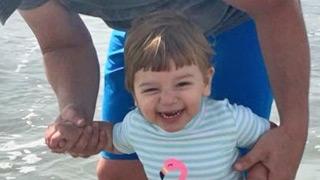 Ava smiling