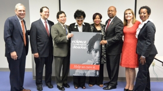 violence prevention initiative group photo