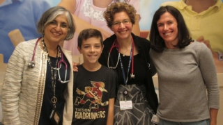 Food allergy patient with care team