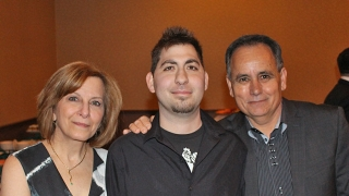 Luca and his parents