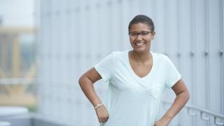 Kayla, 2018 Parkway Run & Walk ambassador