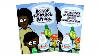 poison patrol english and spanish covers