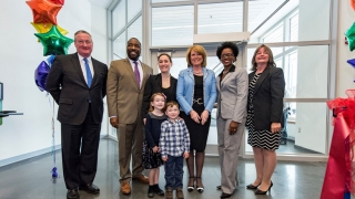 Ribbon Cutting South Philadelphia Community Health and Literacy center