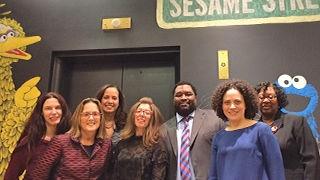 HHI members at Sesame Street