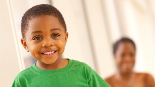 Smiling young boy