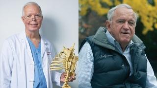 Robert Campbell Jr., MD and Hansj˚o˚rg Wyss