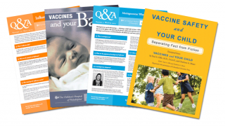 Vaccine Brochure and Booklet Covers