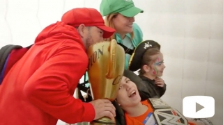 Family from leukodystrophy event