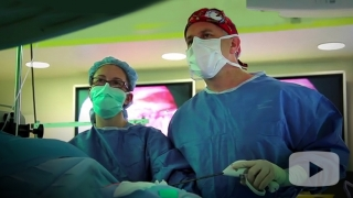 Surgeons in operating rooms