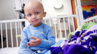 Young Child in hospital