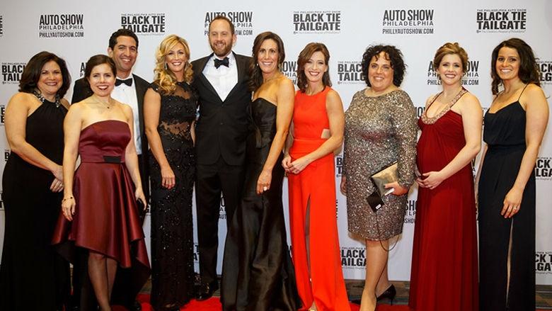 Black Tie Tailgate Car Show Preview For A Cause Childrens - Black tie event philadelphia car show