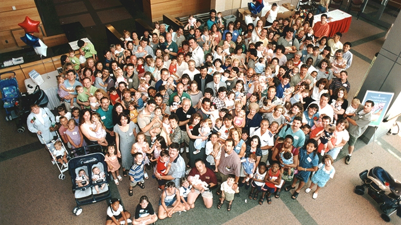 Fetal Family Reunion Group Photo 1999