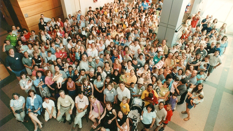 Fetal Family Reunion Group Photo 2001