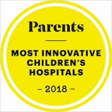 Parents Most Innovative Children's Hospital logo