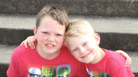 Gage and his brother