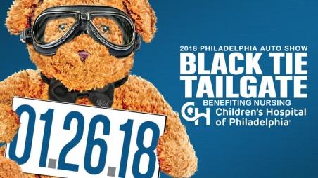 Philadelphia Auto Show Black Tie Tailgate Childrens Hospital Of - Black tie event philadelphia car show