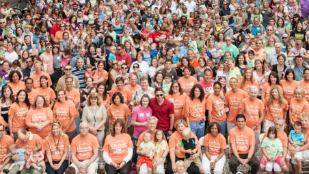 fetal family reunion group photo