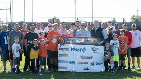 Turkey Bowl participant group photo
