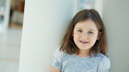 Young female food allergy patient