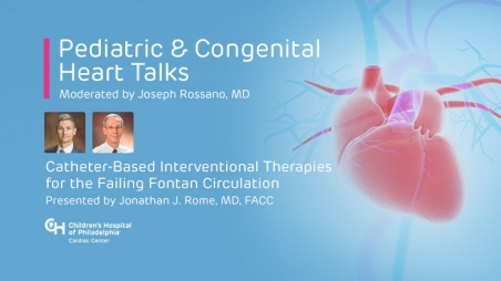 Catheter-Based Interventional Therapies for the Failing Fontan Circulation