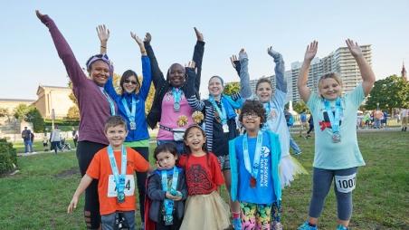 Parkway Run participants