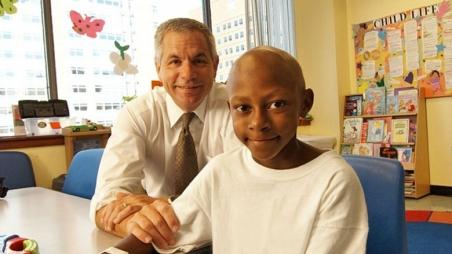 Dr. Maris and patient