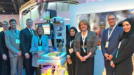 Group photo from Arab Health 2019