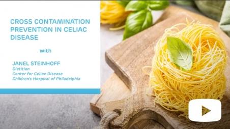 Cross Contamination Prevention in Celiac Disease title screen