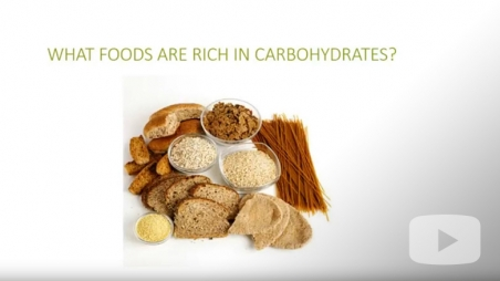 Effect of carbohydrates on blood sugars