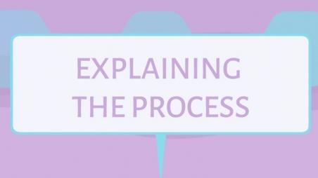 Explaining the Process