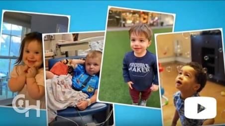 Screen grab from Virtual Fetal Family Reunion video