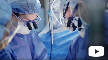 Screen grab from Fetal Surgery for Spina Bifida video