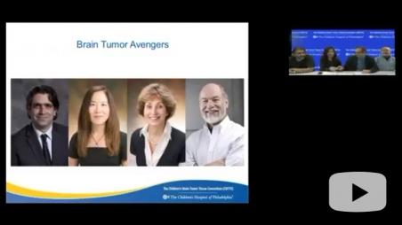 pediatric brain tumor presentation