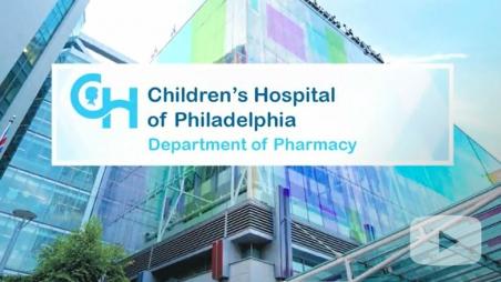CHOP pharmacy video title screen