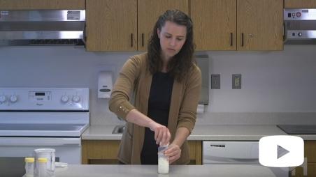 Preparing and Storing Human Milk Fortified with Powder Formula