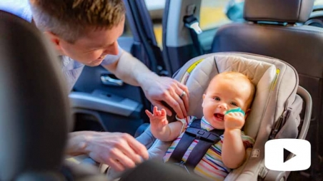 Rear-facing Car Seats for Babies: Safety Tips