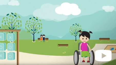 Screenshot from Speak up for Kids Advocacy video