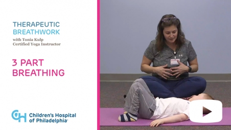 Title screen from Therapeutic Breathwork series