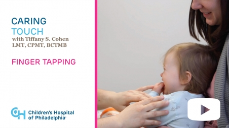 Title screen from Therapeutic Caring Touch series