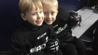 boys sled hockey